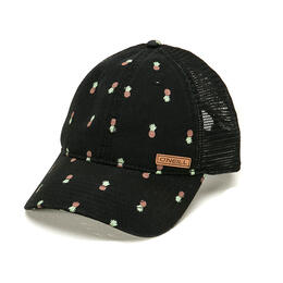 O'neill Women's Abyss All Over Pineapple Trucker Hat