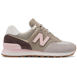 New Balance Women's 574 Metallic Patch Running Shoes