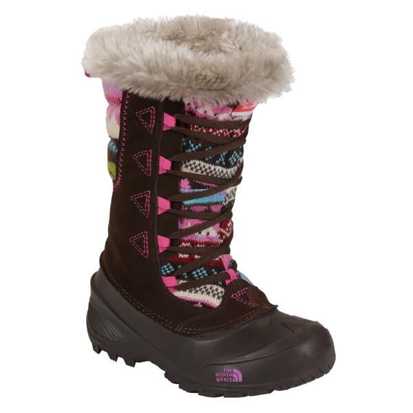 The North Face Youth Shellista Lace Novelty II Apres Ski Boots