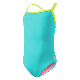 TYR Girl's Solid Diamondfit Swimsuit