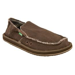 Sanuk Men's Hemp Slip On Shoes