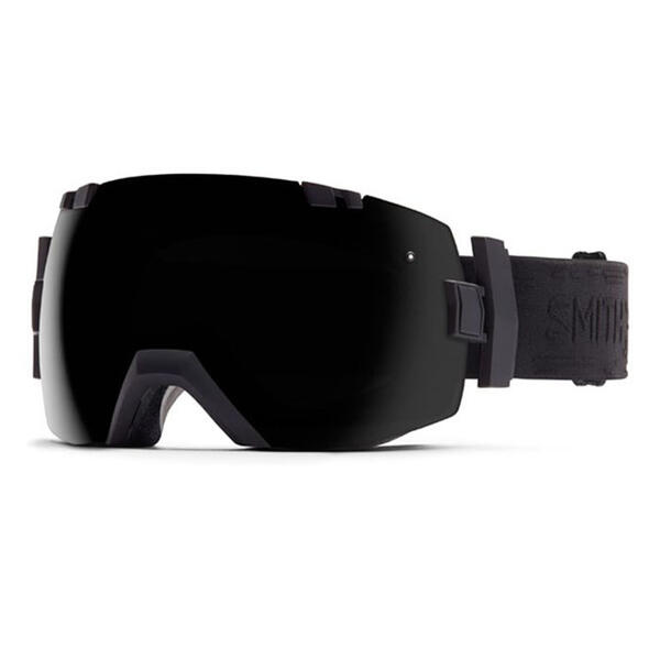 Smith I/O X Snow Goggles With Blackout/Red