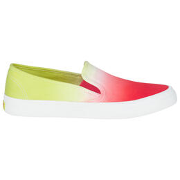 Sperry Women's Seaside Dip Dye Casual Shoes Red
