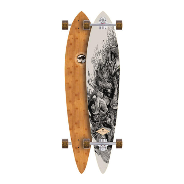 Arbor Timeless Bamboo Complete Longboard
