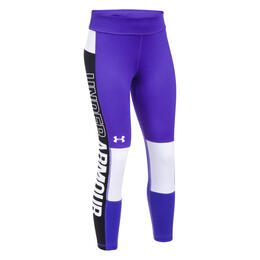 Under Armour Girl's Colorblocking Crop Leggings