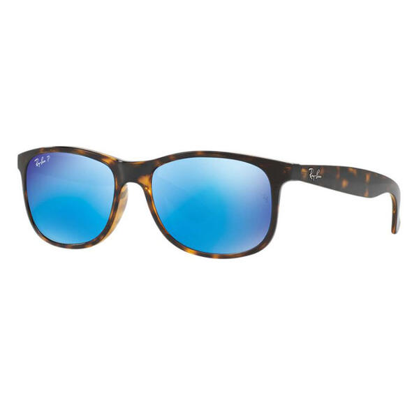 Ray-Ban Andy Sunglasses With Blue Flash Pol