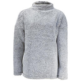 Dylan By True Grit Women's Fresh Air Fleece Drop Shoulder Pullover