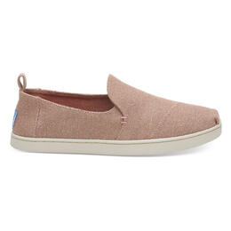 Toms Women's Deconstructed Alpargata Casual Shoes Bloom Metallic