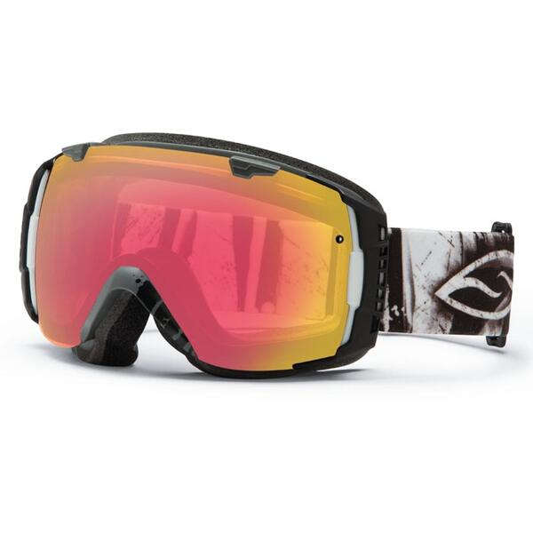 Smith I/O Goggles with Red Sensor and Platinum Lenses