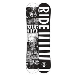 Ride Men's Crook All Mountain Freestyle Snowboard '16