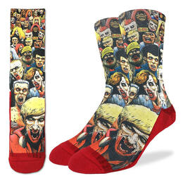 Good Luck Socks Men's Zombie Horde Socks
