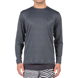 Volcom Men's Distortion Long Sleeve Rashguard