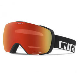 Giro Men's Contact Snow Goggles With Amber Scarlet Lens