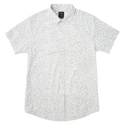 Rvca Men's Cleta Short Sleeve Button Up Shirt
