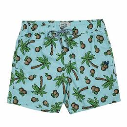 Party Pants Men's Treez Beaver Swim Shorts