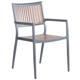 Alfresco Home Penelope Stackable Dining Arm Chair