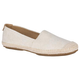 Sperry Women's Sunset Skimmer Linen Casual Shoes Ivory