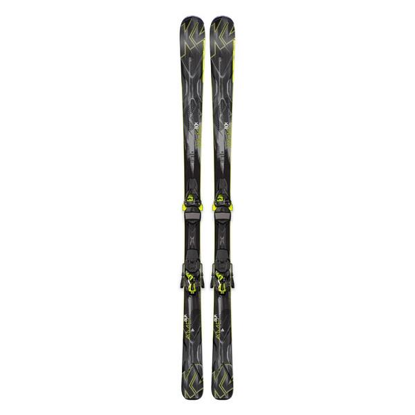 K2 Men's AMP 80X All Mountain Skis with M3 12 TC Bindings '15