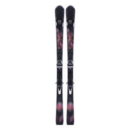 Volkl Women's Flair 78 All Mountain Skis with 4Motion XL 11 Bindings '18