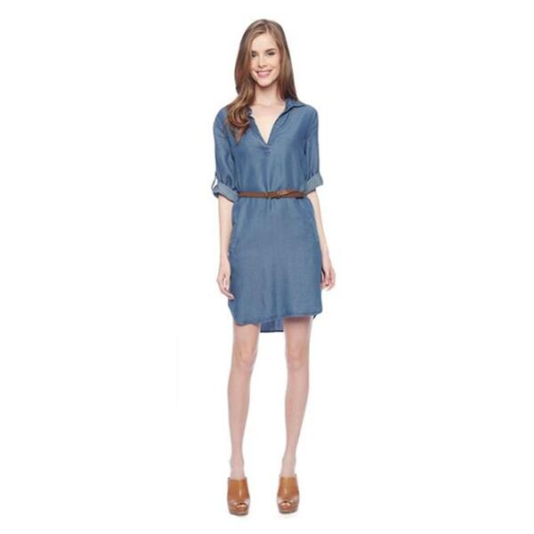 Splendid Women's Indigo Shirting Dress