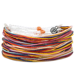 Pura Vida Bracelets Women's Peaches Neet Feet Charity Originals Bracelet