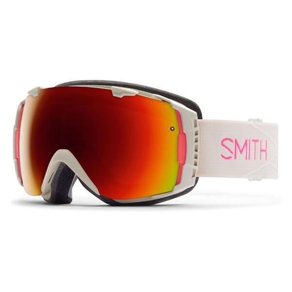 Smith Women's I/O W Snow Goggles With Red Sol X/Blue Sensor Lenses