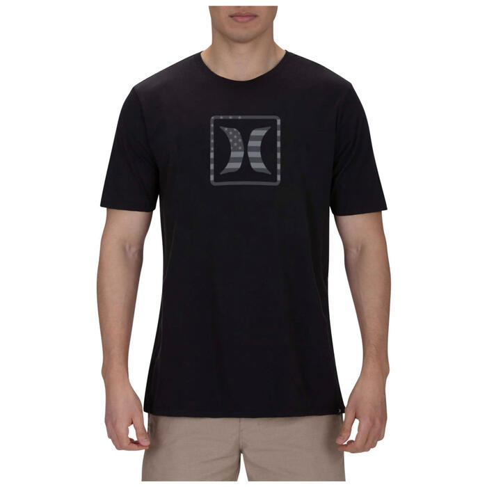 Hurley Men's Premium Block USA T-Shirt
