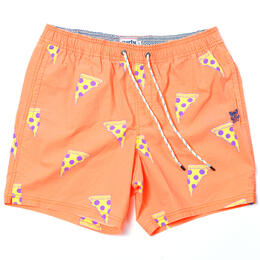 Party Pants Men's Cheezy Swim Trunks