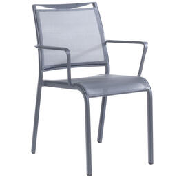 Alfresco Home Maribo Sling Stackable Bistro Arm Chair