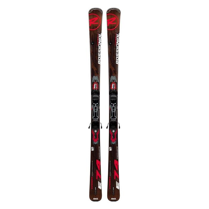 Rossignol Men's Experience 74 All Mountain Skis With