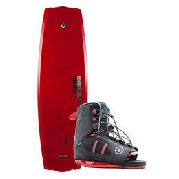 Hyperlite Men's Kruz Wakeboard W/ Team Ot Bindings '18