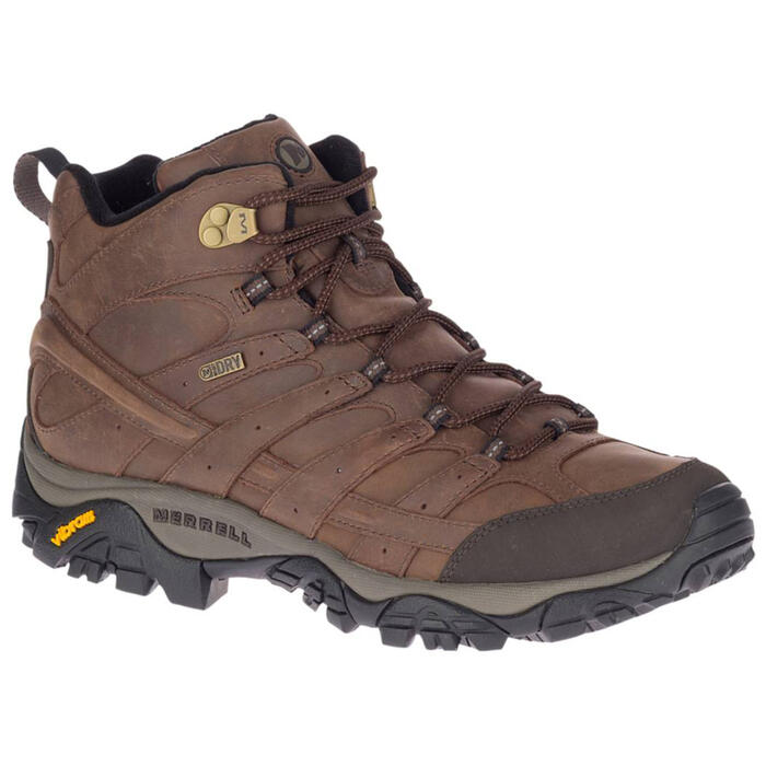 Merrell Men's Moab 2 Prime Mid Waterproof H
