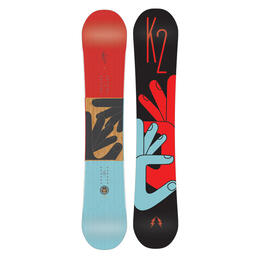 K2 Men's Fastplant Wide Freestyle Snowboard '17