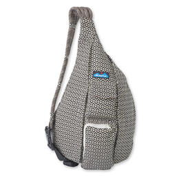 Kavu Women's Rope Bag Backpack Bw Motif