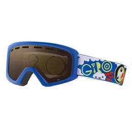 Giro Boy's Rev Snow Goggles With Amber Rose Lens '17