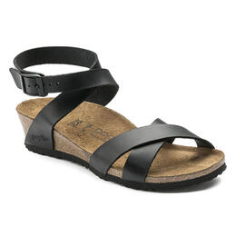 Birkenstock Women's Lola Natural Leather Casual Sandals - Narrow