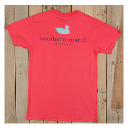 Southern Marsh Women's Authentic Short Sleeve Tee Shirt