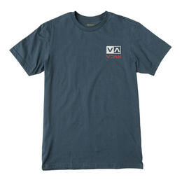 Rvca Men's Flipped Box Embroidery T-Shirt