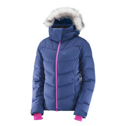 Salomon Women's Icetown Jacket, Medieval Blue Heather