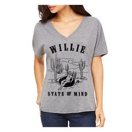Oil Digger Tees Women's State Of Mind Short Sleeve T Shirt
