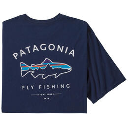 Patagonia Men's Framed Fitz Roy Trout Organic Cotton T Shirt