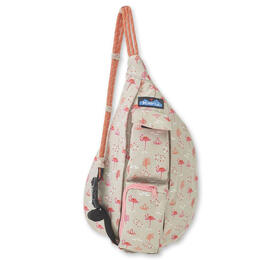 Kavu Women's Mini Chillen Flamingo Rope Bag
