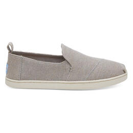Toms Women's Deconstructed Alpargata Casual Shoes Drizzle Grey