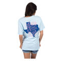 Back of Lauren James Women's Love Me Some Texas Tee Shirt