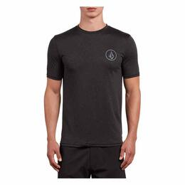 Volcom Men's  Lido Heather Short Sleeve Rashguard