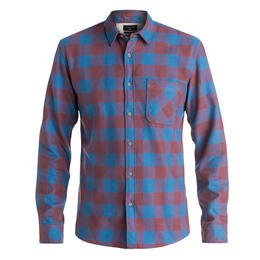 Quiksilver Men's Motherfly Flannel Long Sle