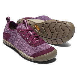 Keen Women's Grape Wine Hush Knit Casual Shoes