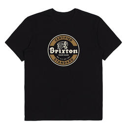 Brixton Men's Soto Short Sleeve Premium T Shirt