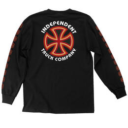 Independent Truck Men's Bauhaus Cross Long Sleeve T Shirt