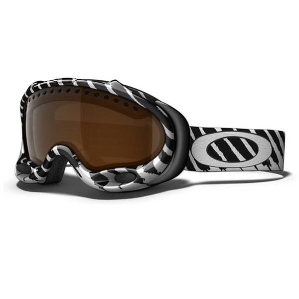 Oakley Shaun White Signature A Frame Goggles With Black Iridium Lens